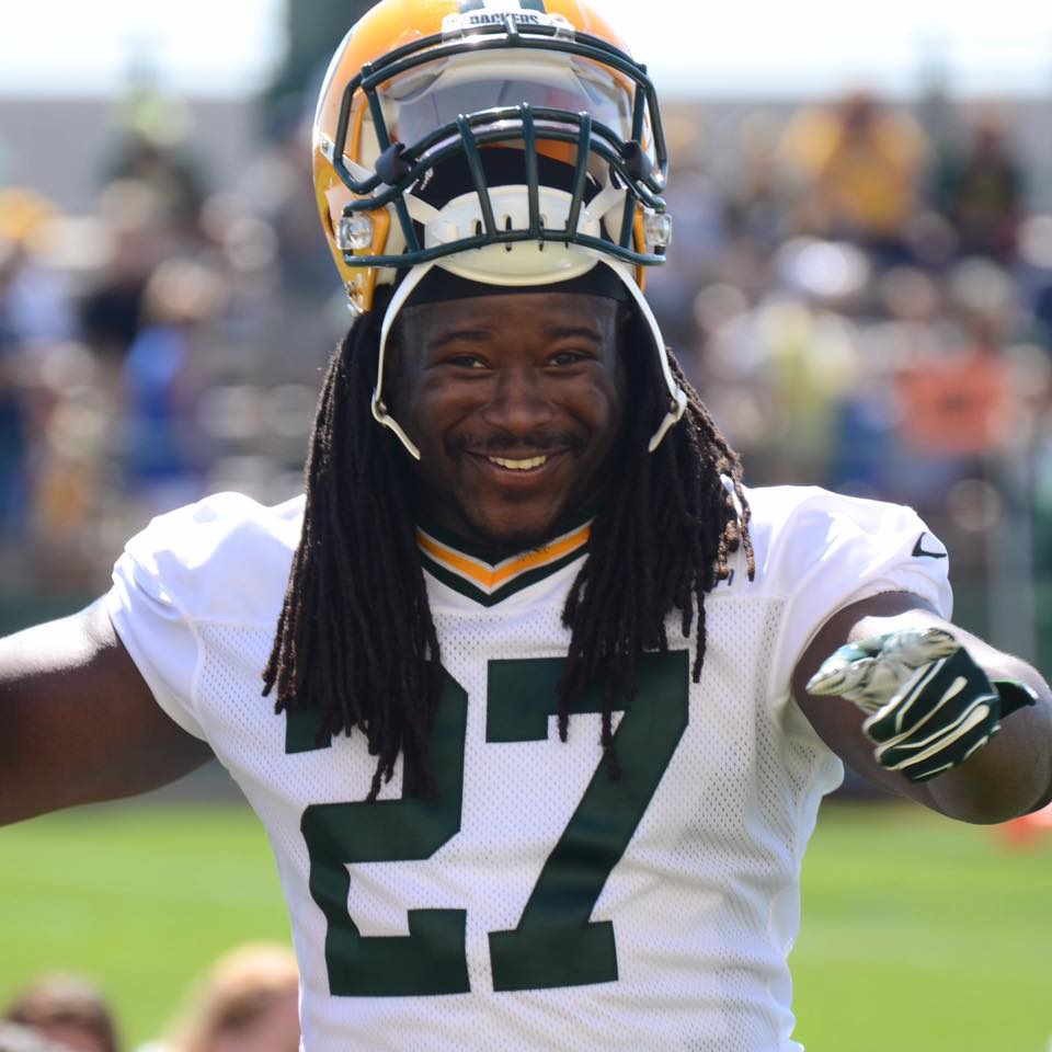 Running back Eddie Lacy enters his fourth season with the Green Bay Packers in 2016.