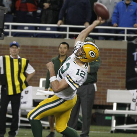 Aaron Rodgers' miraculous Hail Mary against the Lions is one of the quarterback's signature moments.
