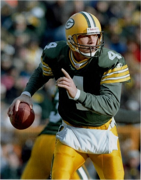 Brett Favre's back-to-back-to-back NFL MVP seasons in the mid-90's compare favorably to his 2009 season with Minnesota.