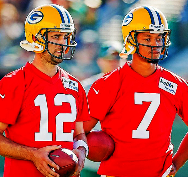 Brett Hundley (#7) is set to make his preseason debut tonight against the Oakland Raiders.