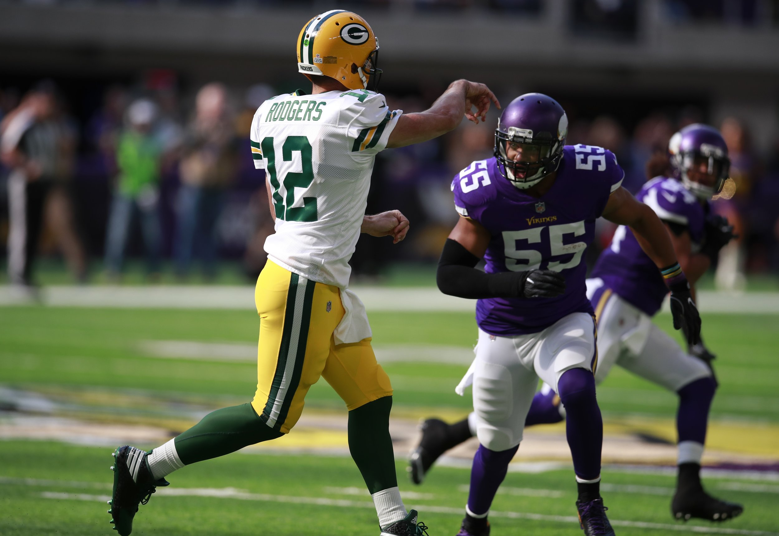 Aaron Rodgers' injury last season was a new chapter in the Packers-Vikings rivalry. Sunday's game against the Minnesota Vikings could be a turning point in Green Bay's favor.
