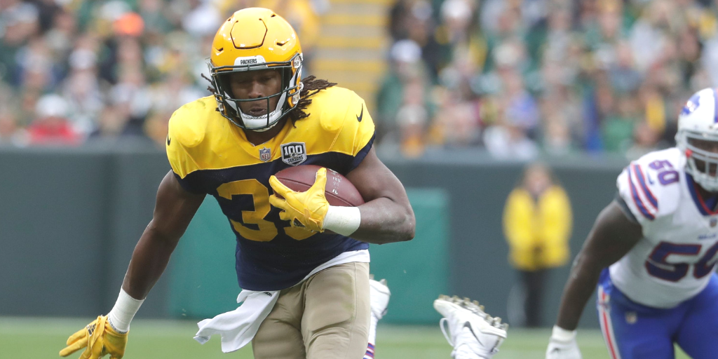 Aaron Jones was productive against the Bills, but he should have gotten more opportunities.