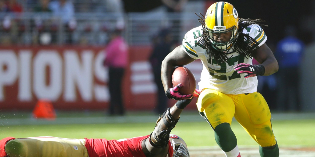 The last time the Packers met the 49ers Eddie Lacy was still toting the rock in Green Bay.