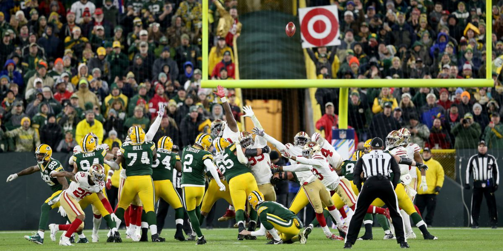 A week after his nightmare day in Detroit, Mason Crosby was on target when it mattered most.