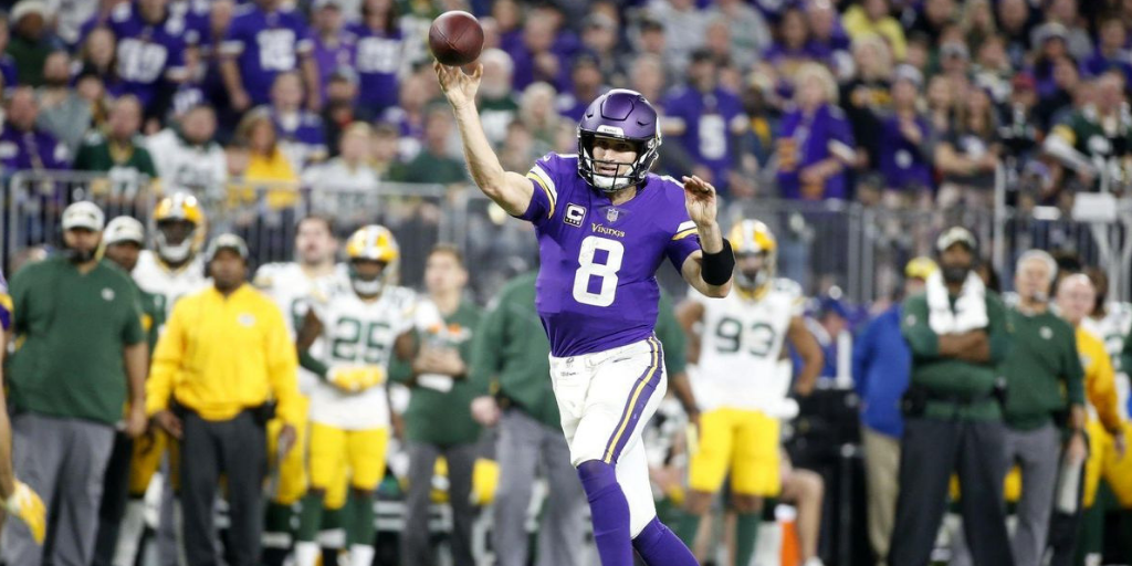 Facing a depleted Packers secondary, Kirk Cousins looked like the quarterback the Vikings paid big money to acquire.