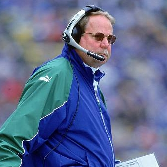 15 Oct 2000: Head Coach Mike Holmgren of the Seattle Seahawks walks on the sidelines during a game against the Indianapolis Colts at the Husky Stadium in Seattle, Washington. The Colts defeated the Seahawks 37-24.Mandatory Credit: Tom Hauck  /Allsport