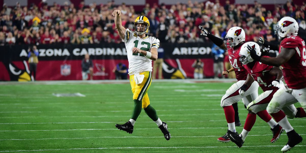 Aaron Rodgers has looked like an honest to goodness superhero at times against the Cardinals, and Randall Cobb anticipates more of the same this week.