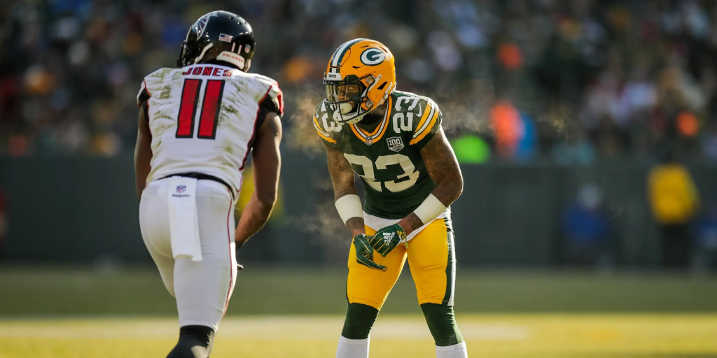 Jaire Alexander had the unenviable task of shadowing Julio Jones on Sunday afternoon.