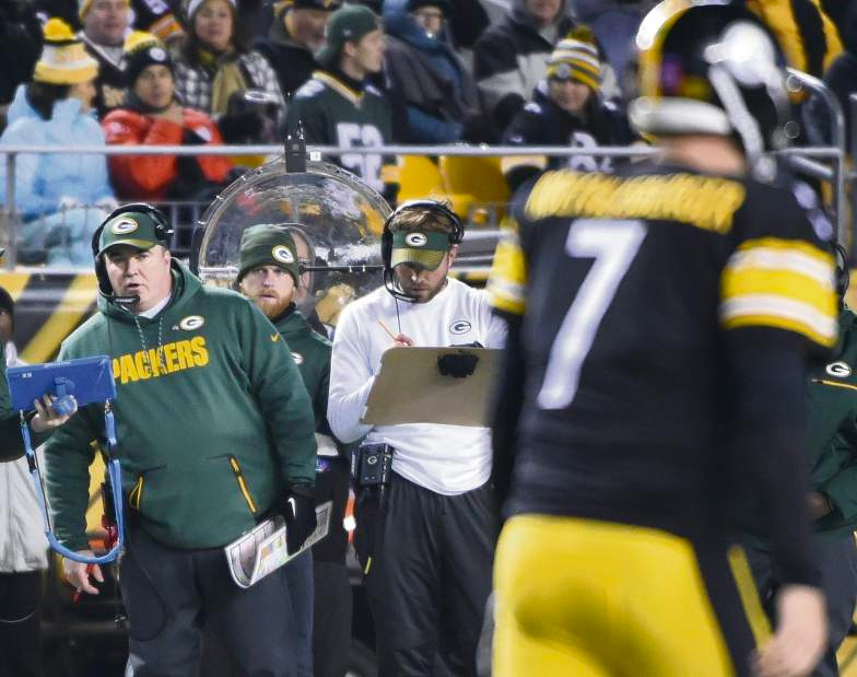 Mike McCarthy  grew up in Pittsburgh, and rooted for the Steelers as a child.