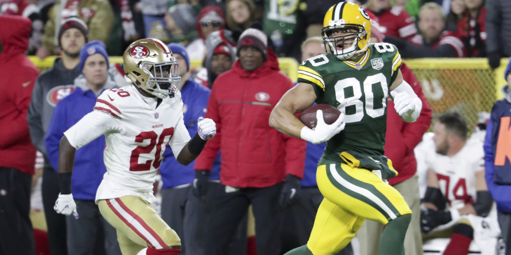 Jimmy Graham made an honest-to-goodness big play in the Packers' win over the 49ers.