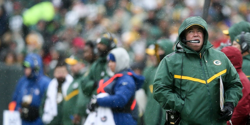 Mike McCarthy's last game as the head coach of the Packers was a dreary, sloppy affair.