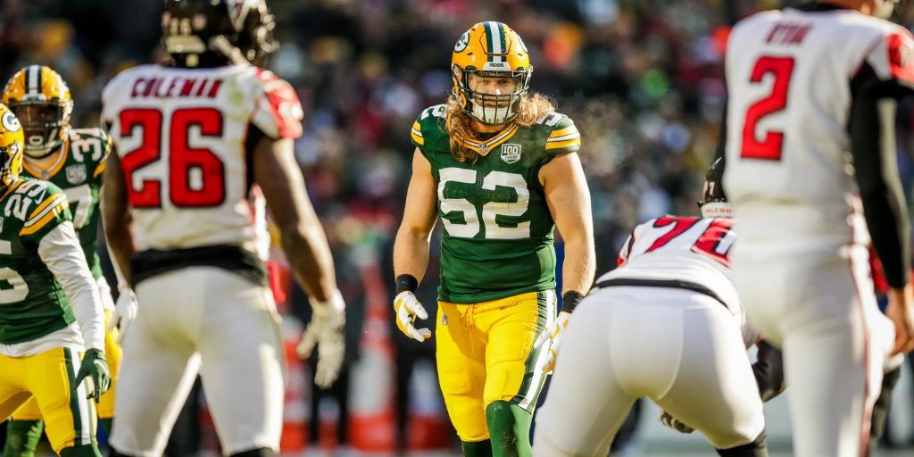 Clay Matthews recorded what could be his last sack with the Packers in Green Bay's win over the Falcons.