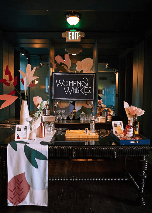 Campari Women & Whiskies -
