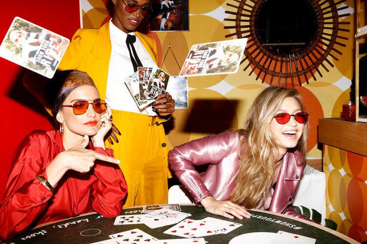 Gigi Hadid + Vogue Eyewear -