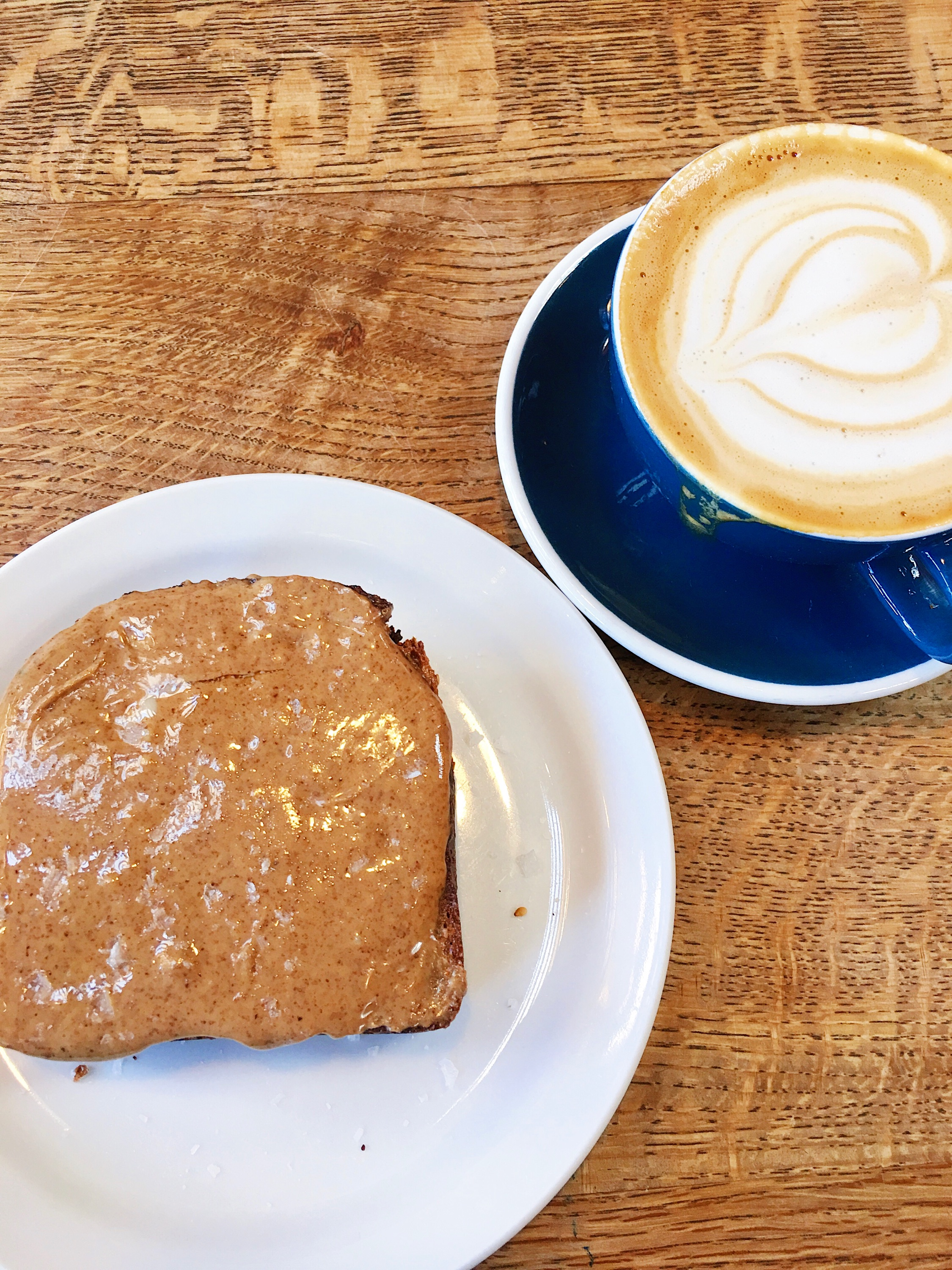 Almond Butter Toast at the Mill SF