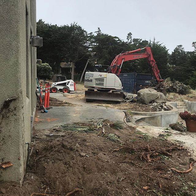 I ❤️ demo!!! Sombria Lane project in #PebbleBeach