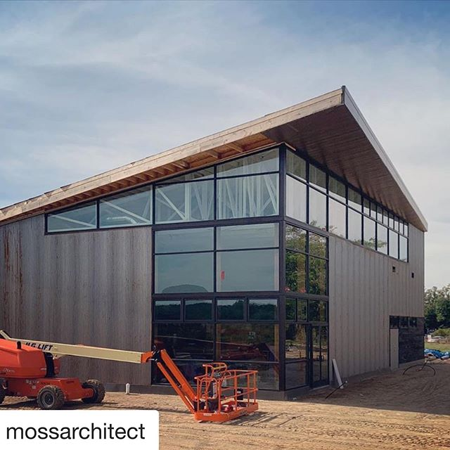 Beautiful new @riverstjoe brewery project by @mossarchitect and @jmlandarts collaboration with Bent Oak Landscaping at @flatwaterfarms in #Buchanan Michigan — can't wait to see this landscape graced with massive tallgrass prairie grasses and wildflowers, and sit in the beer garden overlooking the hops fields!!!! ♥️♥️♥️♥️ #organicbeer #organichops #farmtotable