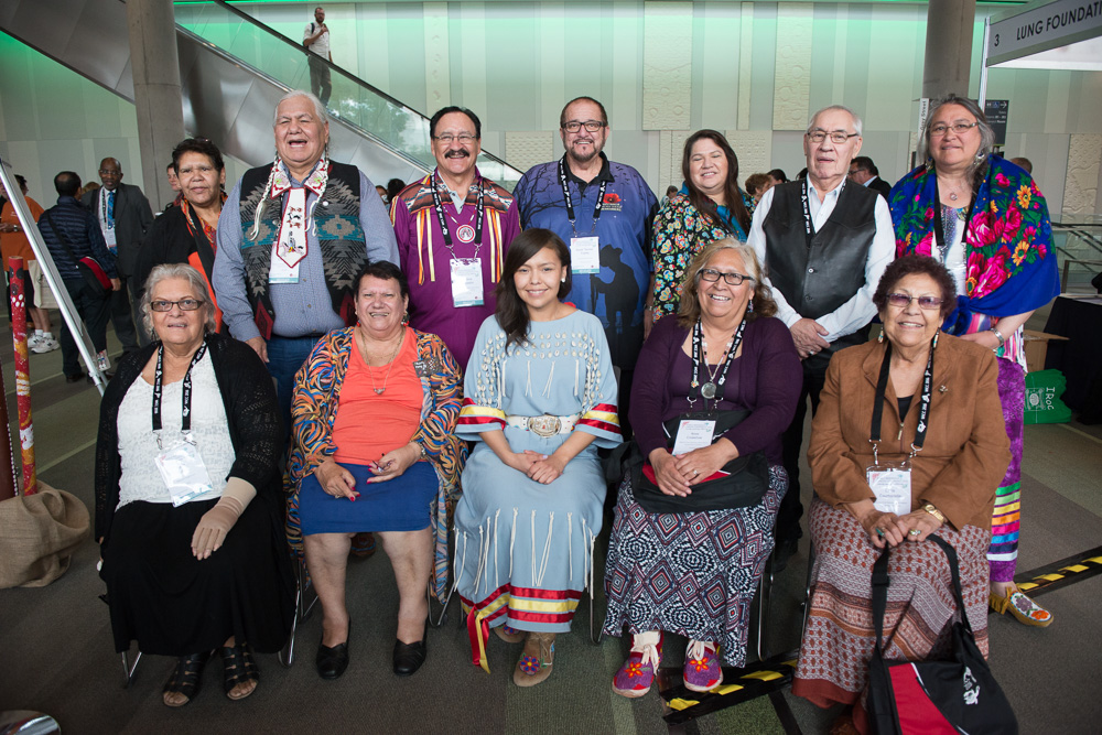 Australian and Canadian elders and delegates at WICC2016