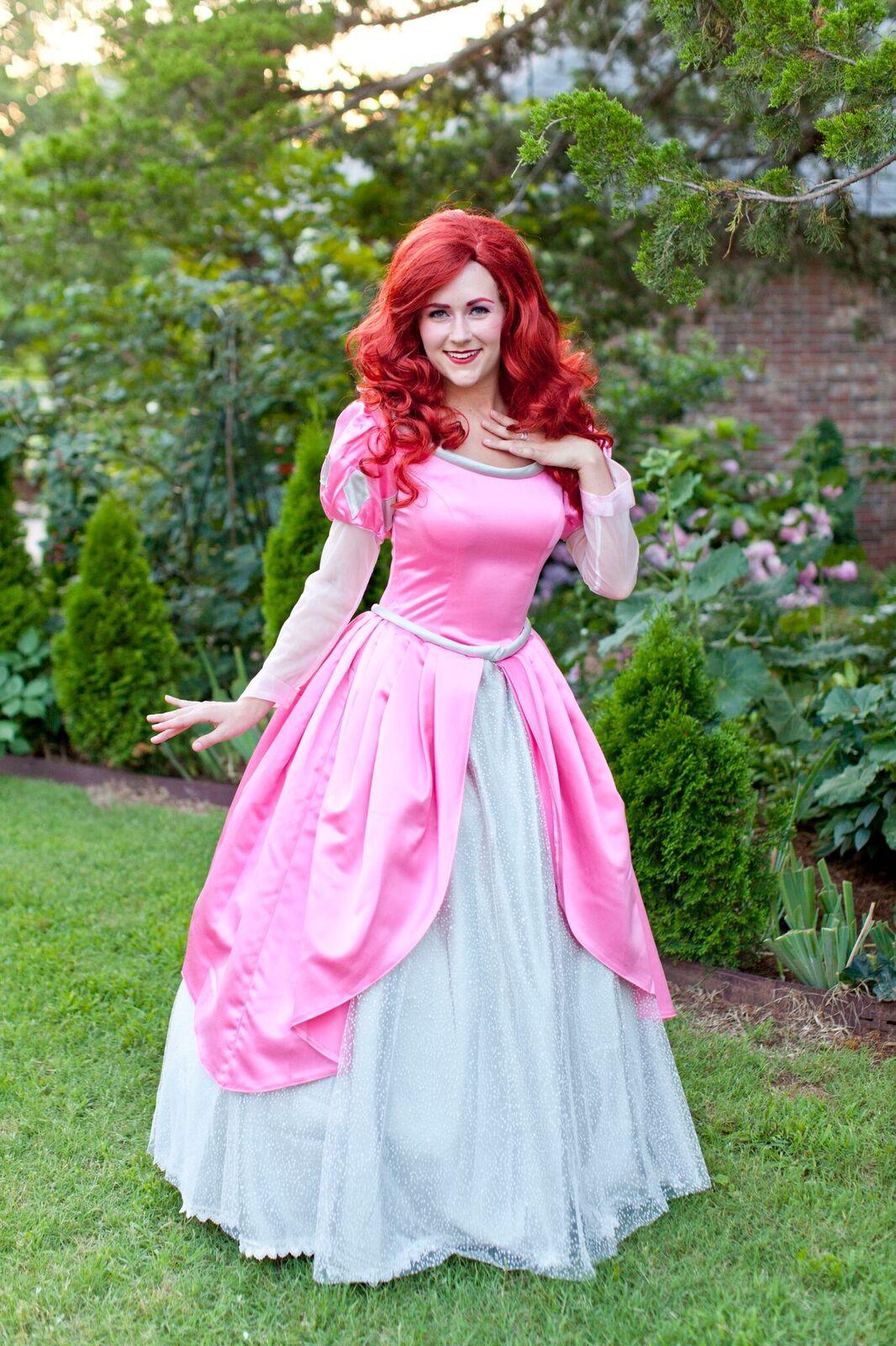 Ariel- Pink Dress