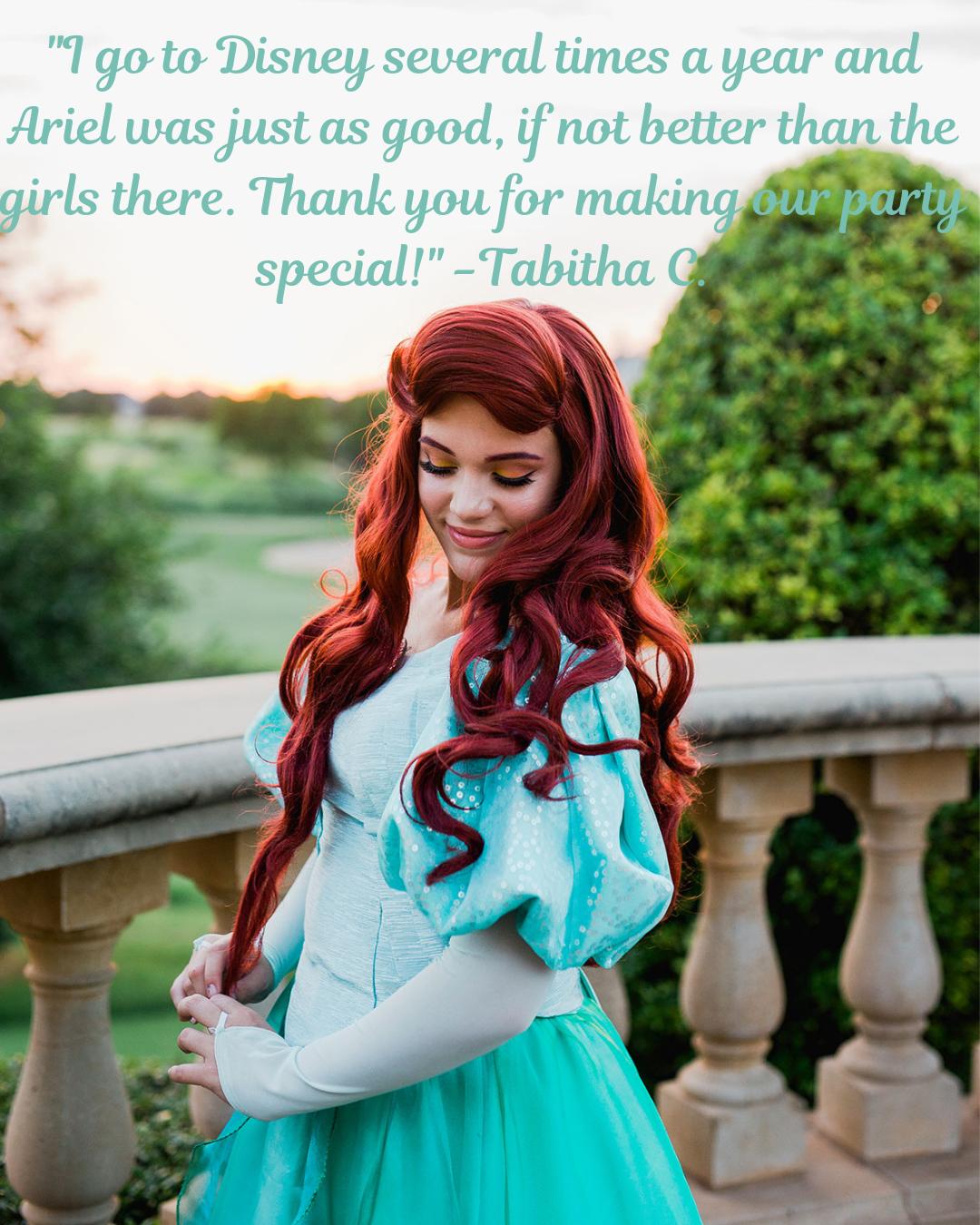 Ariel Little Mermaid Party