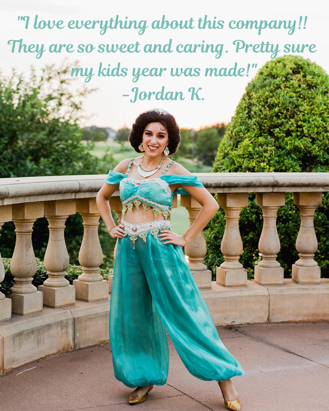Princess Jasmine Aladdin Party