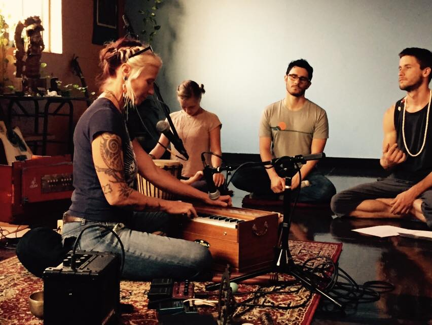 yoga chanting sweethome teacup