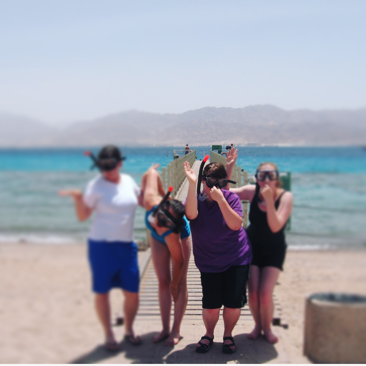 body positive body acceptance eilat red sea snorkeling