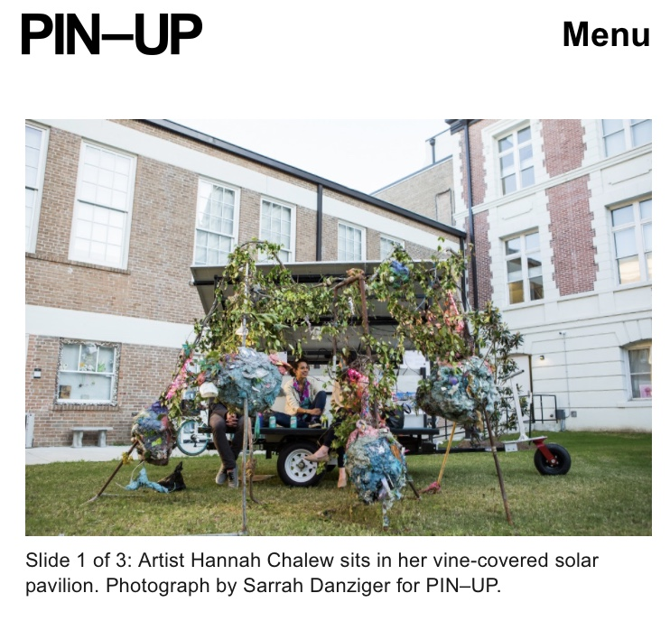 Thank you to Drew Zeiba for featuring my work in his  review of the Ideascity New Orleans festival for Pin-up Magazine