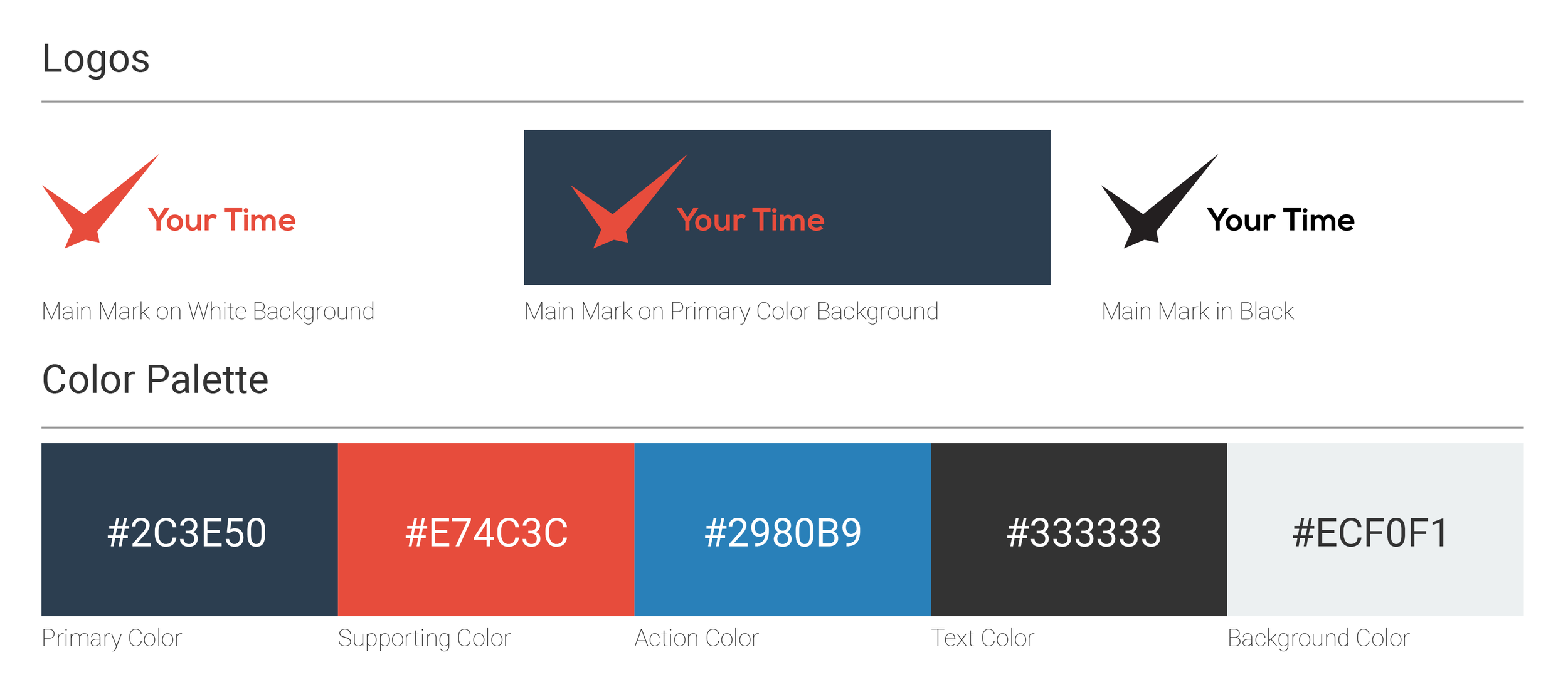 Logo and Color Palette
