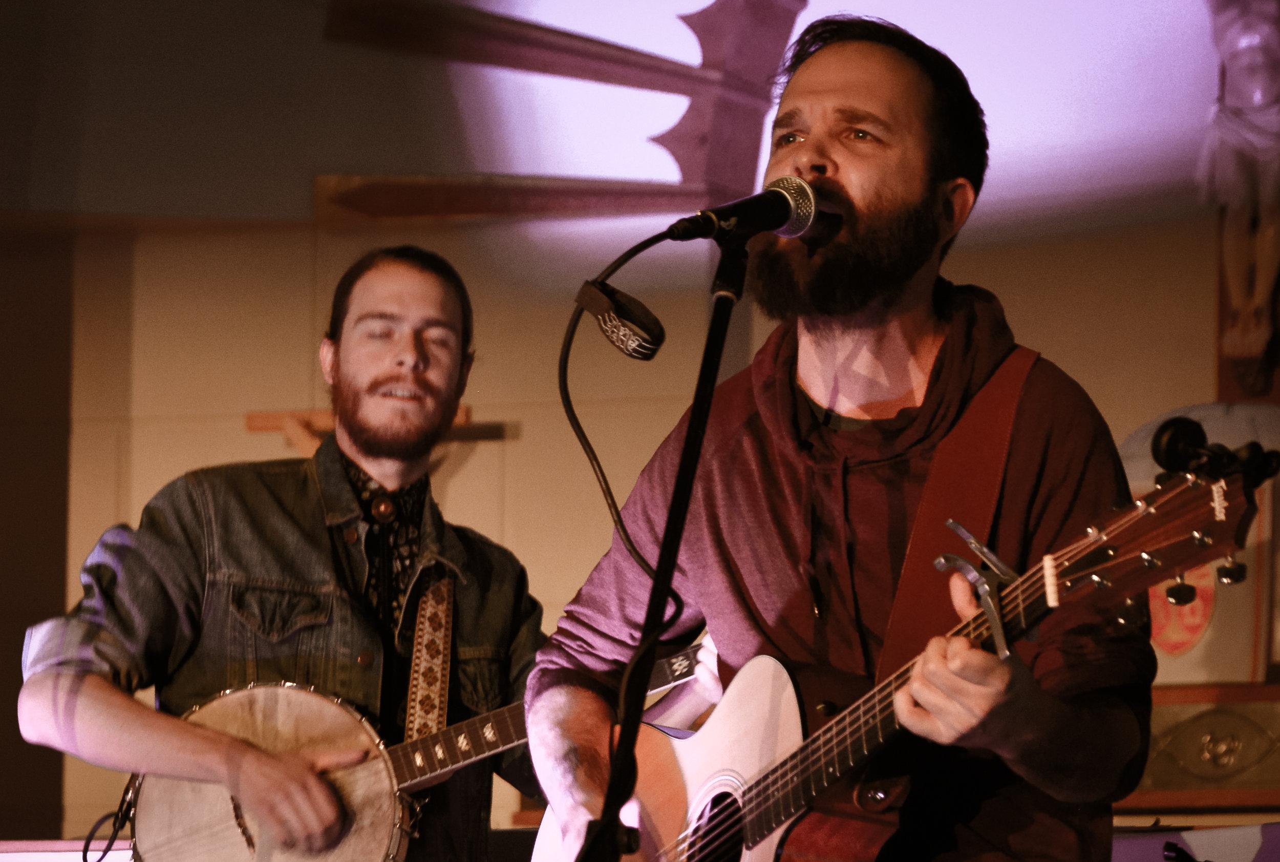 Mike and Jesse - Tony Devlin