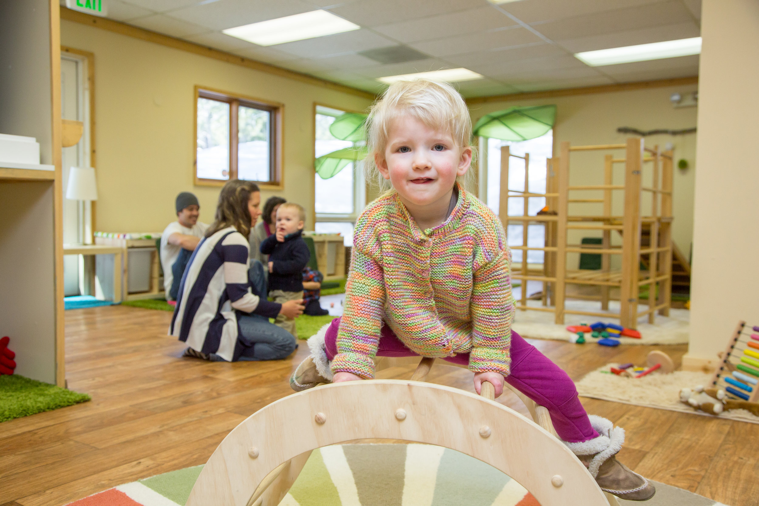 Parent-Toddler Play Class -