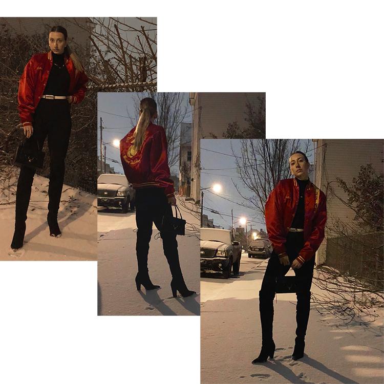 Shop :  jacket ,  bag  Shop similar:  jumpsuit