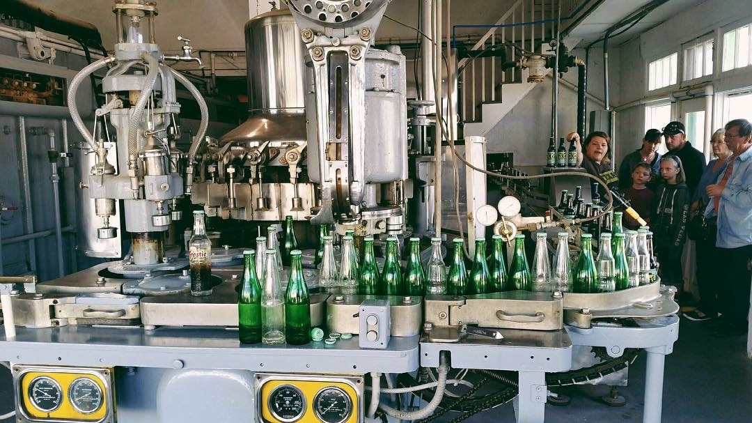 Dublin Bottling Works tour in Dublin, TX