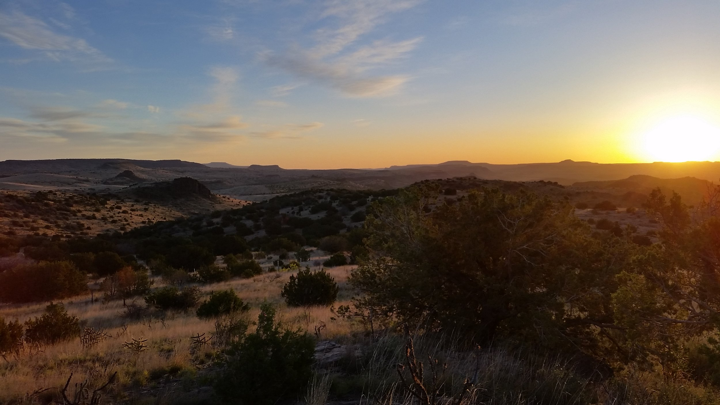 Catching a sunrise at the Davis Mountains State Park. One of Joel's all time favorite adventures we took while on his very first travel assignment in 2015.