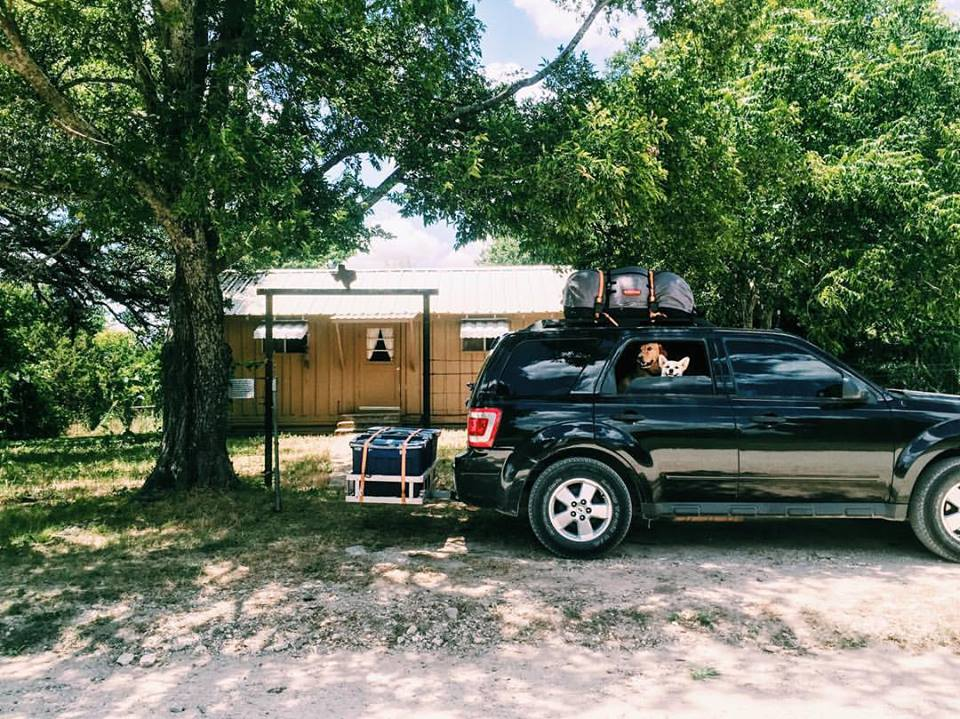 Packed up and ready to move from Meridian, TX, on to the next adventure!