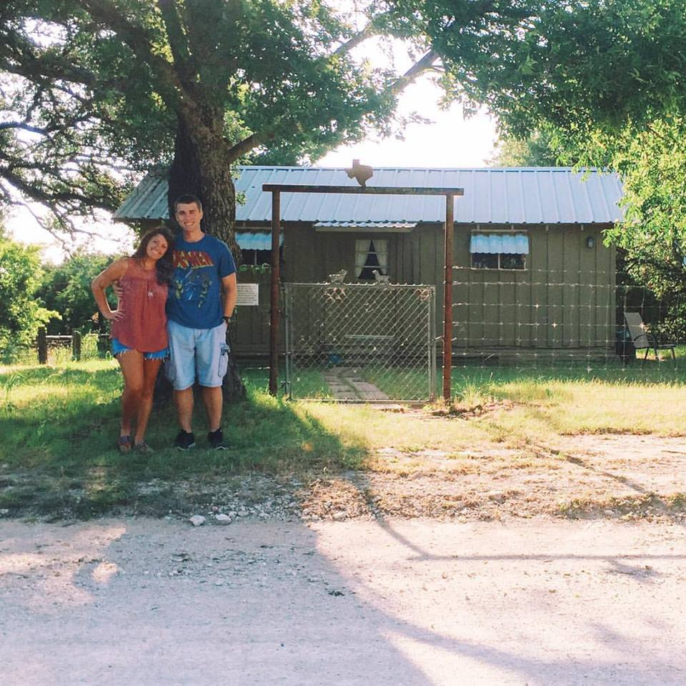 Tiny Cottage on Young Ranch in Meridian, TX 2016