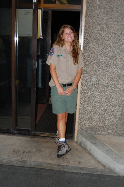 Summer 2009, working as a park aide at Doheny State Beach