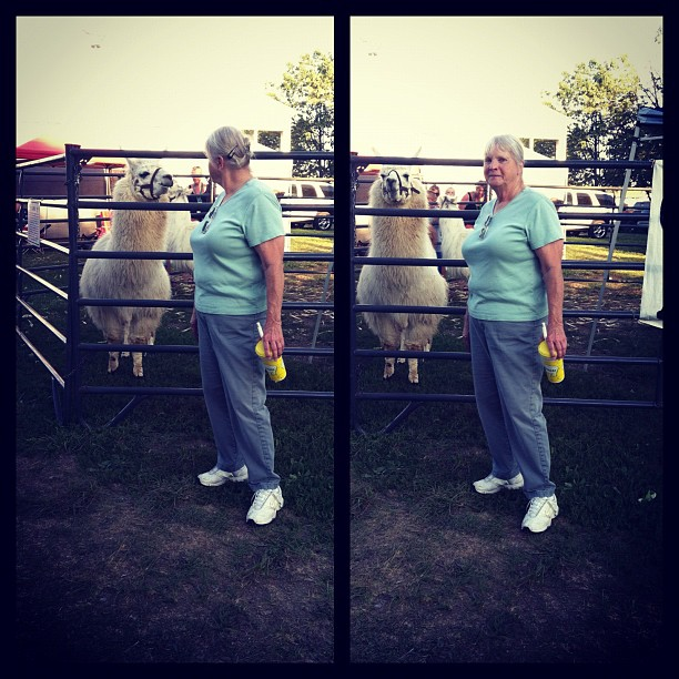 Nana and I used to go to the fair every year together to pig out on fair food!