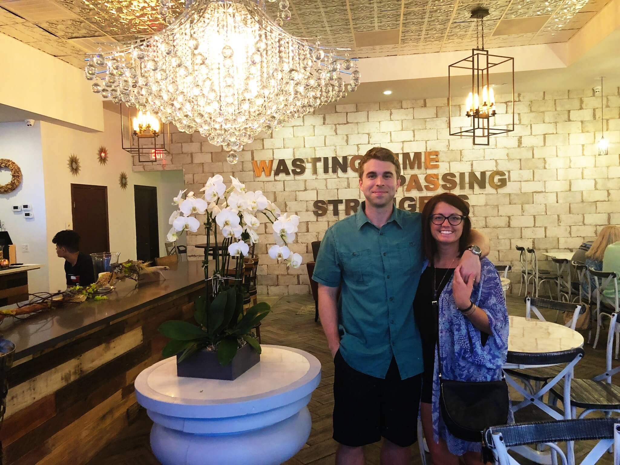 - -we celebrated Joel's 30th birthday adventuring in Houston