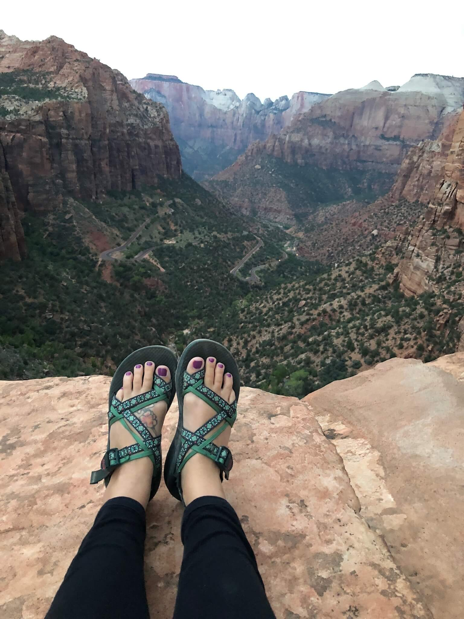 - -I got my first pair of Chacos, and wear them EVERYWHERE