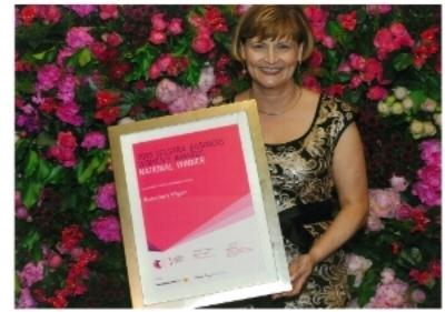 Rosemary Vilgan Telstra Australian Business Woman of the Year 2013