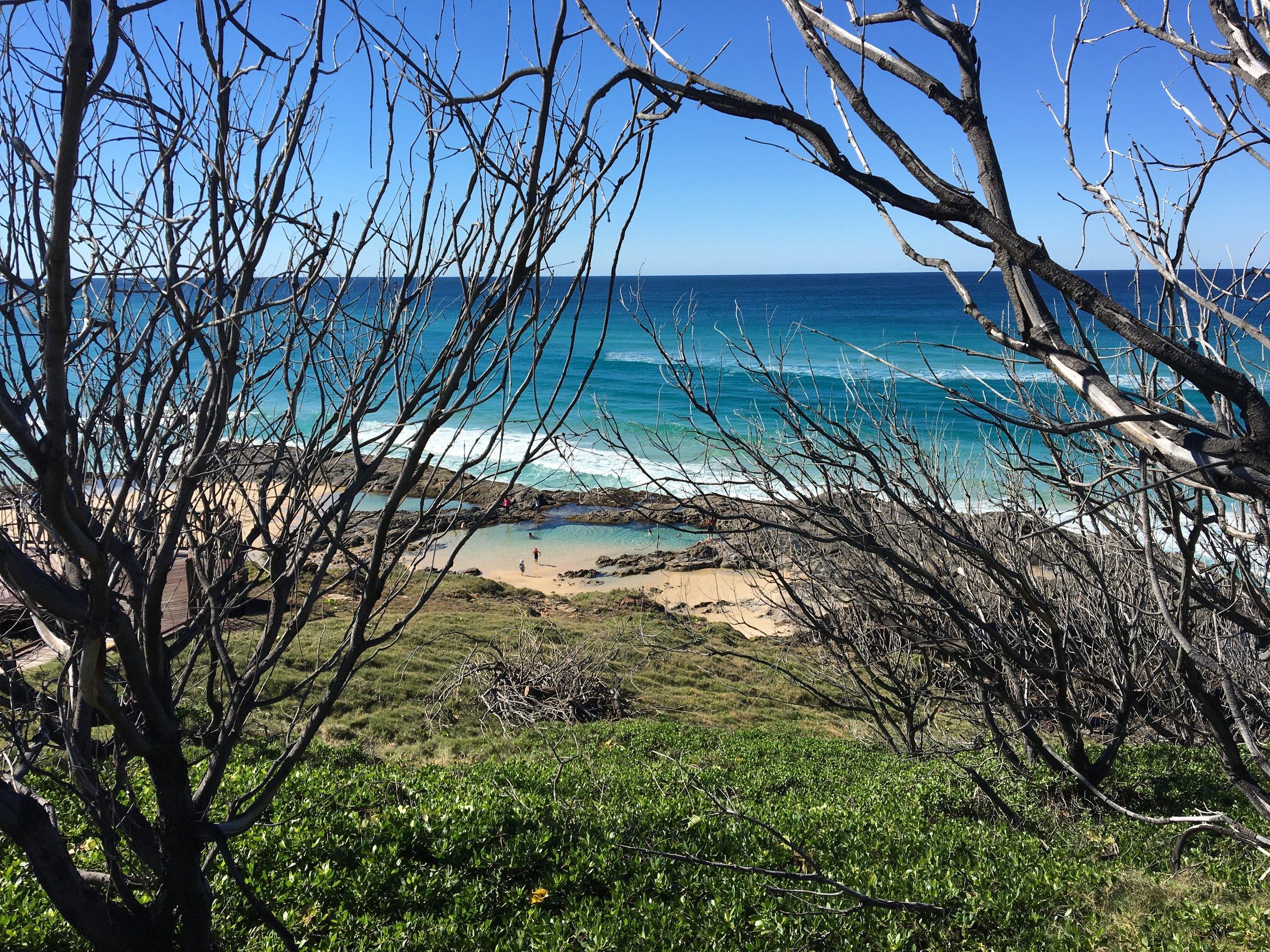 """Champagne Pool"", Fraser Island"