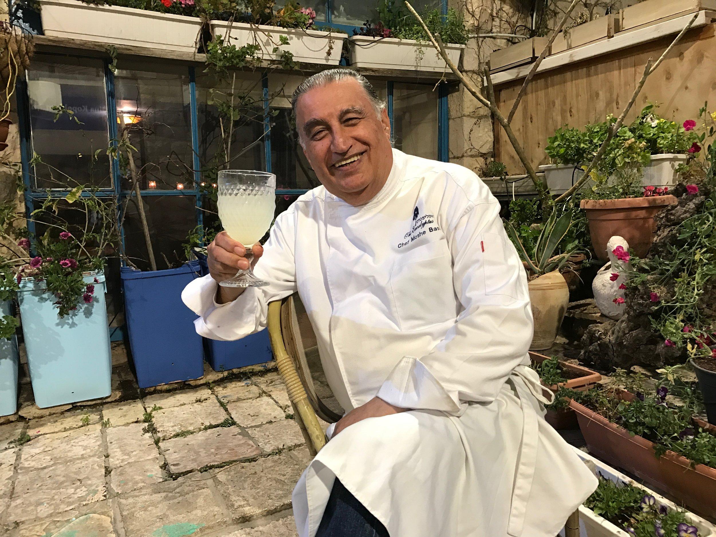 Besitzer und Koch Moshe Basson