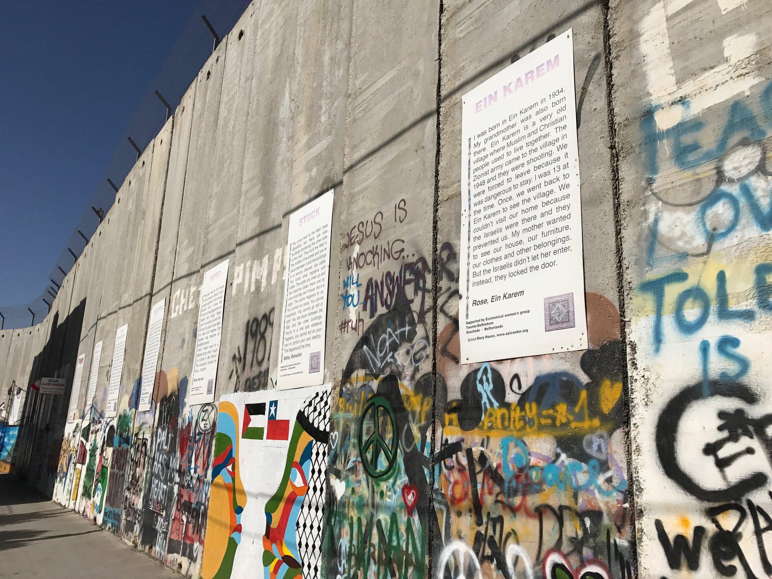 Bethlehem Mauer