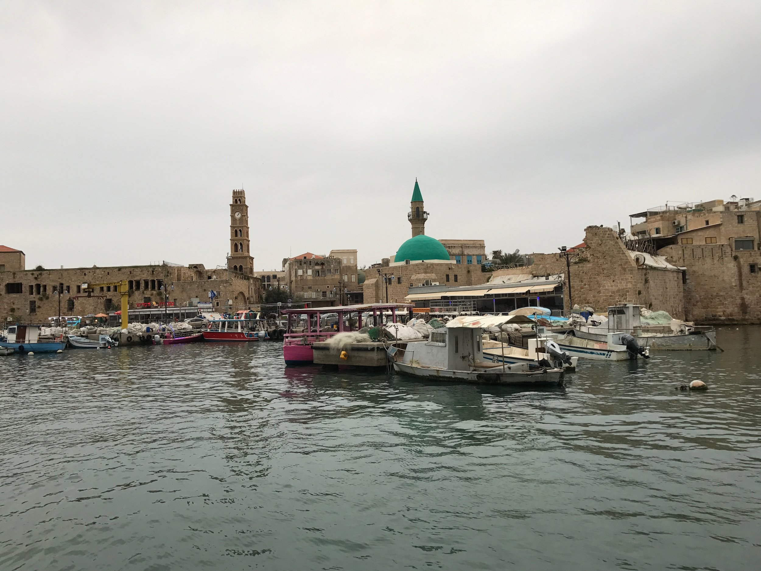 In the historic port city of Akko,
