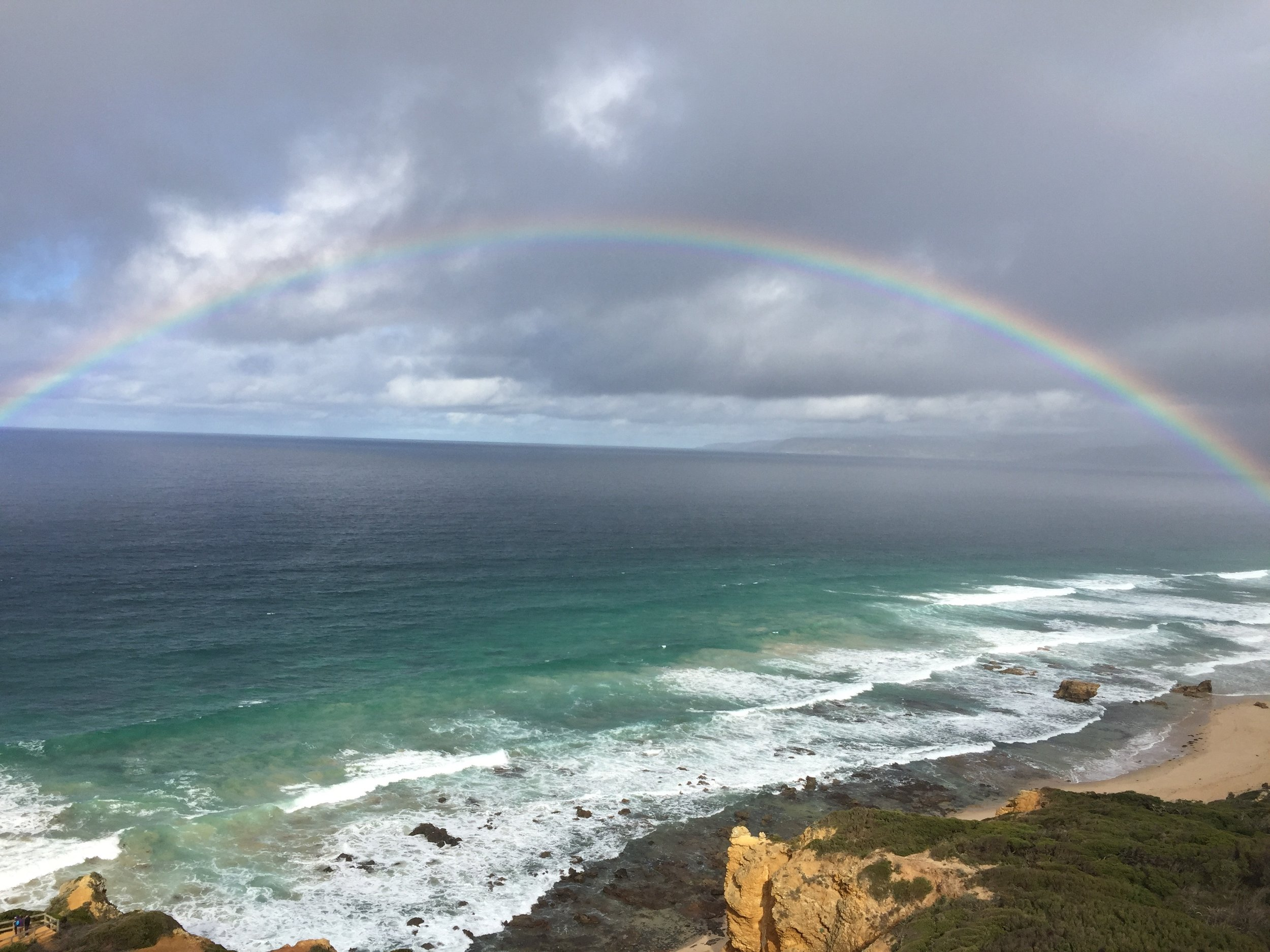 Ausblick Split Point Lighthouse