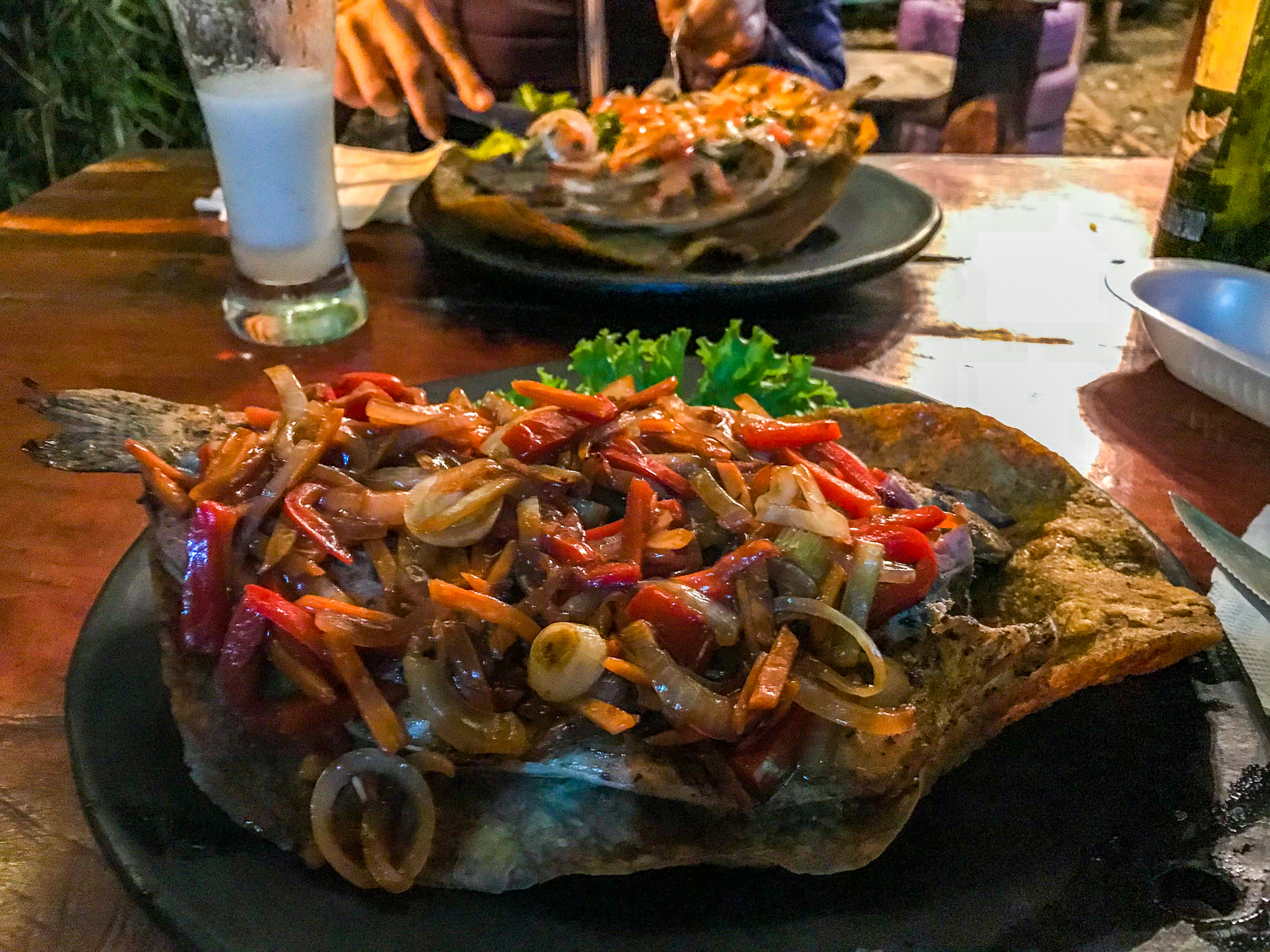 Copy of Eating trout is a must in Salento