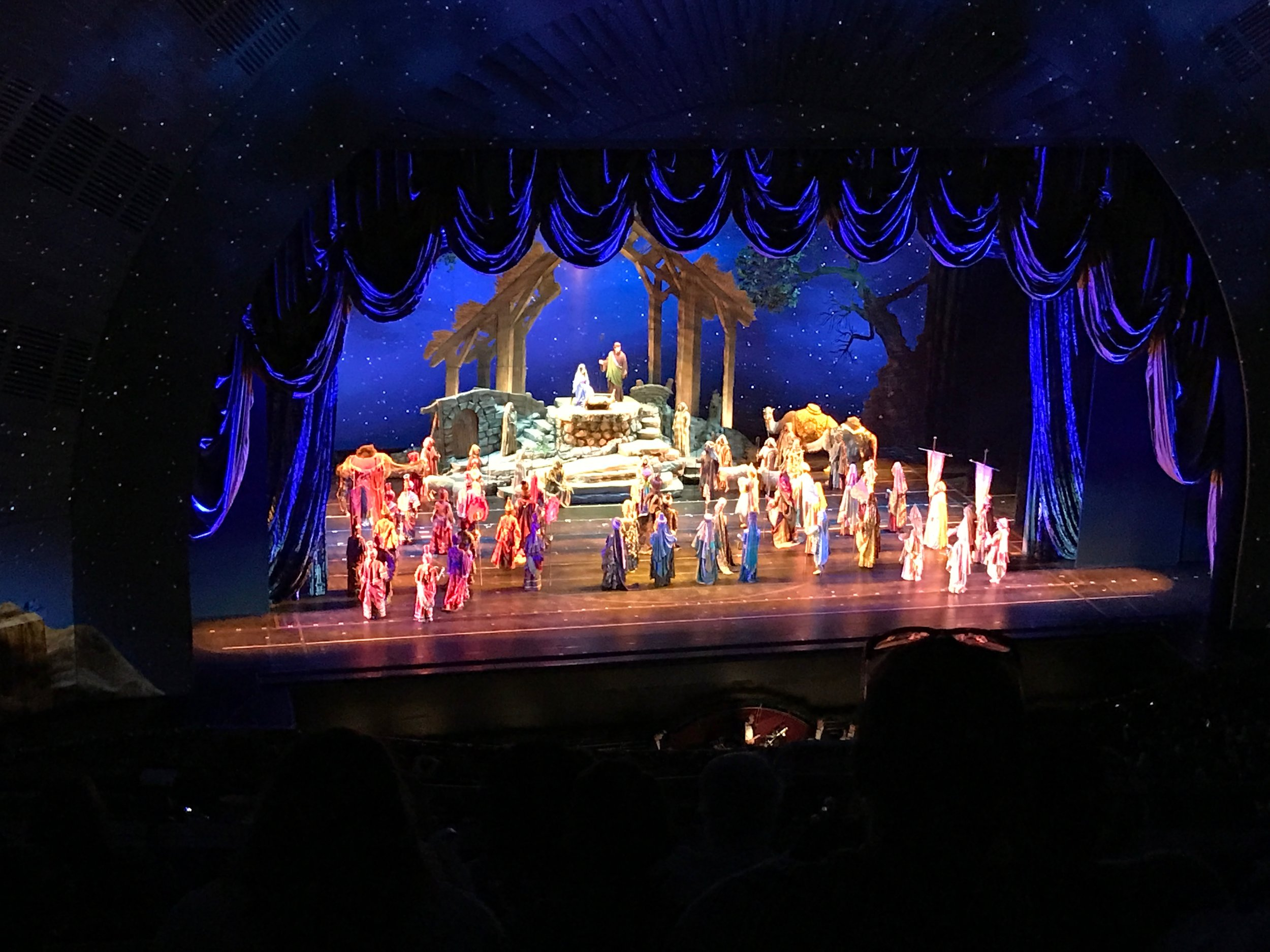 Christmas Show at the Radio City Music Hall