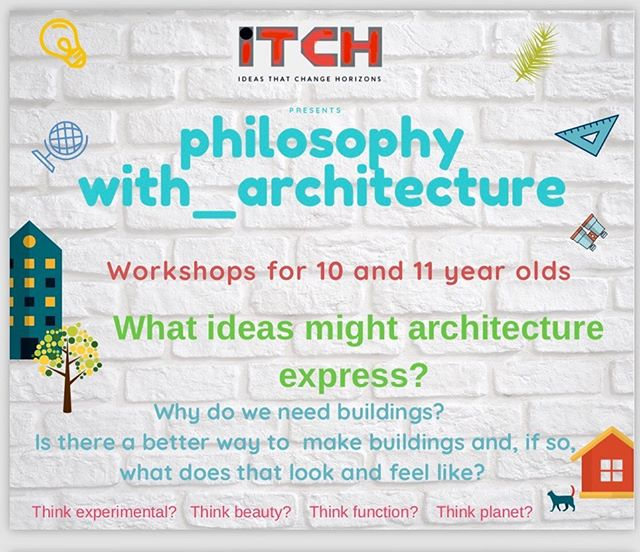 On Thursday evenings starting from the 6th of June through to the 4th of July, With_ will proudly be playing host to Philosophy With_Architecture presented by @itch_ideasthatchangehorizons. This course of five workshops explores ideas at the collision of philosophy and architecture in age appropriate design studios incorporating community of inquiry. A limited number of places are still available. If you wish to enquire, please contact Ruth from ITCH via email or DM. _ #itch_ideasthatchangehorizons #perth #perthkids #whatsoninperth #perthparents #kidsworkshopsperth #perthteachers #community #ideas