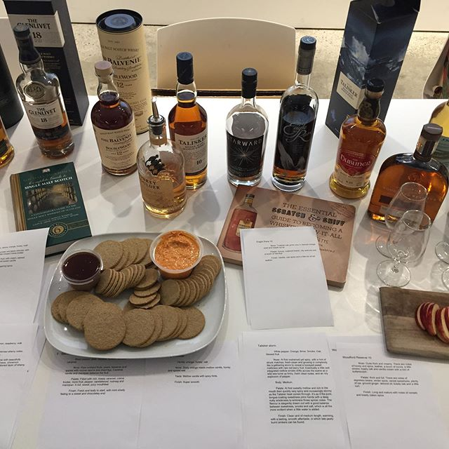 We got into the spirit 🥃 and celebrated #worldwhiskyday Marvellous array of whiskey/whisky and an illuminating presentation thanks to our very own Josh Martin 🙌
